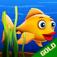 Flippy Fishy : The flip flap bubble under water deep ocean adventure - Gold Edition